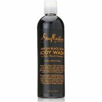 Shea Moisture African Black Soap Body Wash 13 oz (Pack of 6)