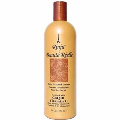 Rinju Beaute Reelle Body & Hand Lotion 16 oz (Pack of 2)
