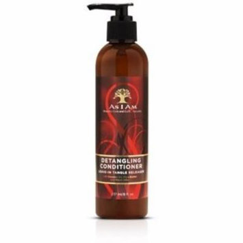 As I Am Detangling Conditioner, 8 oz (Pack of 4)