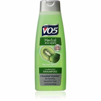 6 Pack Alberto VO5 Herbal Escapes Kiwi Lime Squeeze Clarifying Shampoo 12.5oz Ea