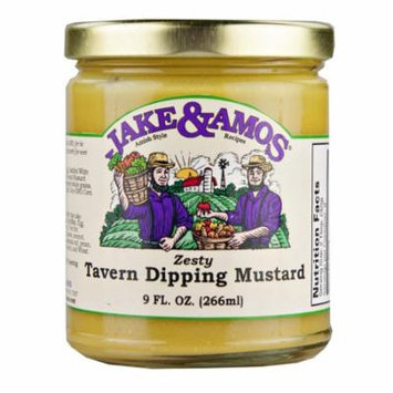 Jake & Amos Zesty Tavern Mustard 9oz (2 Pack)
