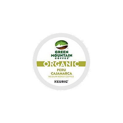 Green Mountain Coffee Organic Peru Cajamarca Coffee K-Cups