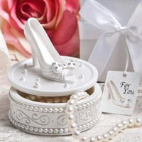 Magical shoe design trinket boxes pack of 72