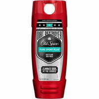 Old Spice Hardest Working Collection Dirt Destroyer Body Wash, Pure Sport Plus 16 oz (Pack of 3)