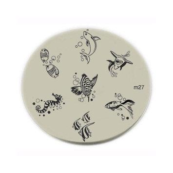 Konad Stamping Nail Art Image Plate - M27