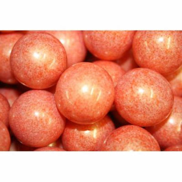 GUMBALLS SHIMMER ORANGE 25mm or 1 inch (285 count), 5LBS