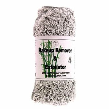 Makeup Remover and Exfoliator Bamboo Charcoal Cloth (1) Large - 10 Pack