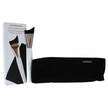 Skinsorials Mask Essentials Kit by bareMinerals for Women - 2 Pc Mask Application Brush and Cloth