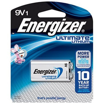 6 Pack Energizer Ultimate Lithium 9V Battery 1 Count Each