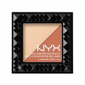 (6 Pack) NYX Cheek Contour Duo Palette 03 Perfect Match