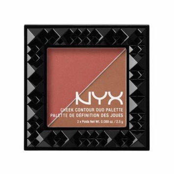 (6 Pack) NYX Cheek Contour Duo Palette 04 Wine & Dine
