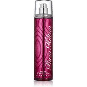 Paris Hilton Body Mist for Women 8 oz (Pack of 6)