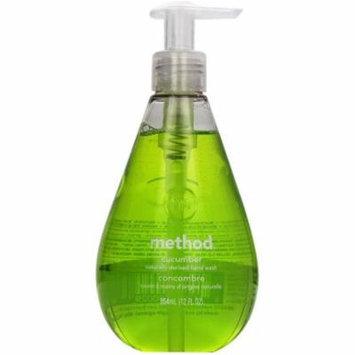 Method Gel Hand Wash, Cucumber 12 oz (Pack of 2)