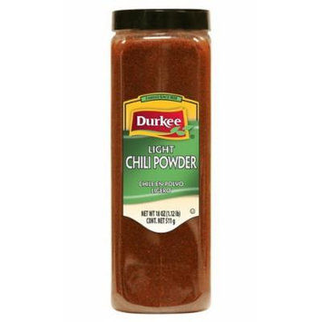 Durkee Light Chili Powder, 18 oz