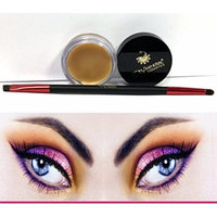 Bundle 2 Items: Itay Mineral Brow Shaping Clear Wax To Use With Brow Powder Or Brow Fibers and Premium Duo Brow Brush Powder