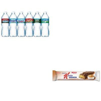 KITKEB29190NLE101243 - Value Kit - Kellogg's Special K Protein Meal Bar (KEB29190) and Nestle Bottled Spring Water (NLE101243)