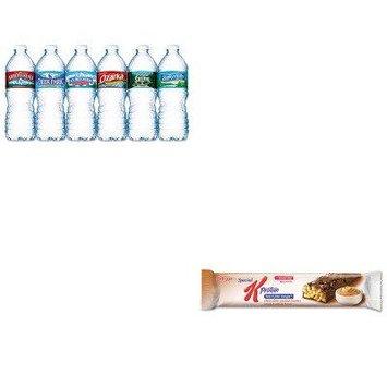 KITKEB29190NLE101243 - Value Kit - Kellogg's Special K Protein Meal Bar (KEB29190) and Nestle Bottled Spring Water (NLE101243)