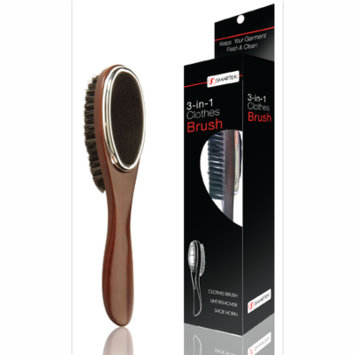 Smartek 3-in-1 Garment Care Clothes Brush, Lint Remover and Shoe Horn