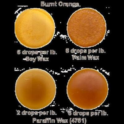 16 oz. Burnt Orange Liquid Dye
