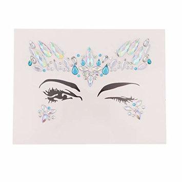 SM SunniMix Fashion Face Adhesive Glitter Jewel Tattoo Wedding Festival Body Decorations