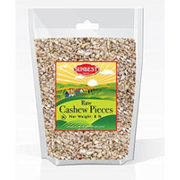 SunBest Natural Cashew PIECES Raw, Unsalted, Unroasted in Resealable Bag (Pieces, 8 Lb)