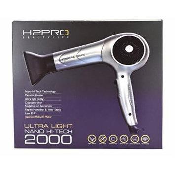H2PRO Ultra Light Hi-Tech 2000 Hair Dryer