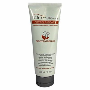 Iden Bee Propolis Repair Therapy Revitamasque Treatment for Damaged Hair 8oz