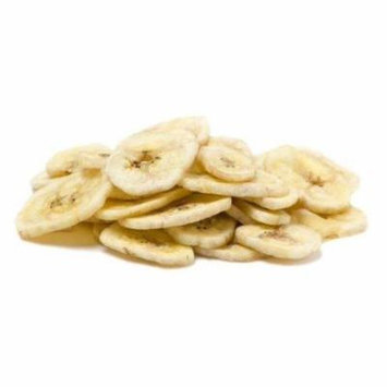Banana Chips Dried Sweetened by Its Delish, 10 lbs