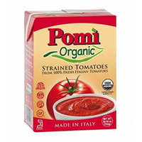 Pomi Organic Strained Tomatoes 26.46 oz. (Pack of 4)