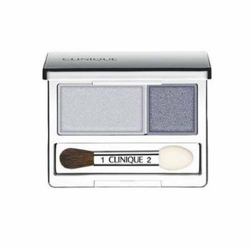Clinique All About Crease and Fade Resistant Eye Shadow Duo - 0.07 Oz (Twilight Mauve/Brandied)