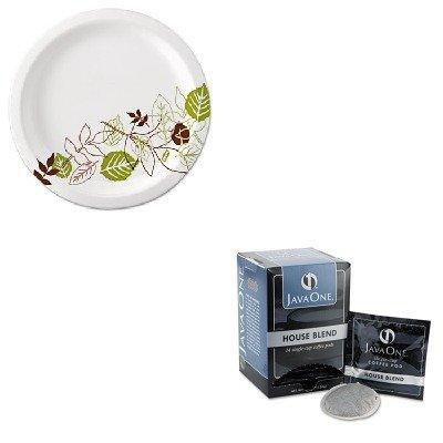 KITDXEUX9WSPKJAV40300 - Value Kit - Java Trading Co. Coffee Pods (JAV40300) and Dixie Pathways Mediumweight Paper Plates (DXEUX9WSPK)