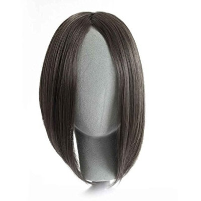 Straight Long Side Fringe Bangs Clip In Hair Extensions Synthetic Piece Xuanhemen