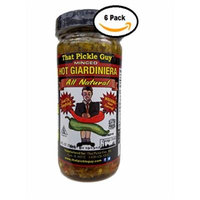 That Pickle Guy Minced Hot All Natural Giardiniera (8 oz) (6 Jars)