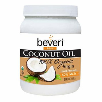 Beveri Organic 100% Virgin Coconut Oil, 54 Ounce