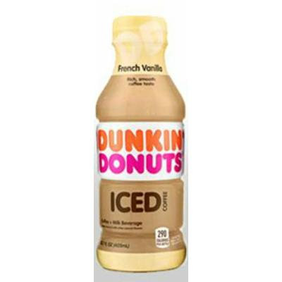 Dunkin Donuts Bottled Ice Coffee (French Vanilla)