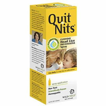 5 Pack Hylands Quit Nits Head Lice Homeopathic Preventive Spray Non-toxic 4oz Ea