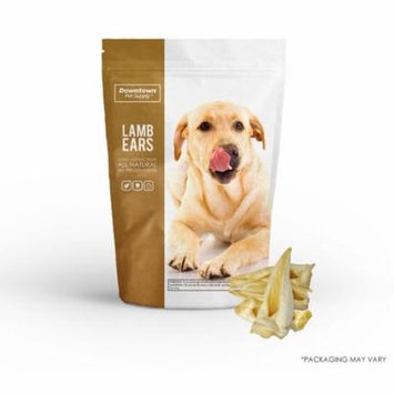 Best All Natural Alternative to Pig Ears for Dogs, Healthy Dog Training Treats (Lamb Ears, 12-Pack)