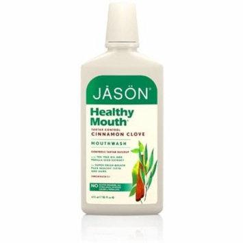 Jason Healthy Mouth Mouthwash, Cinnamon Clove 16 oz (Pack of 2)