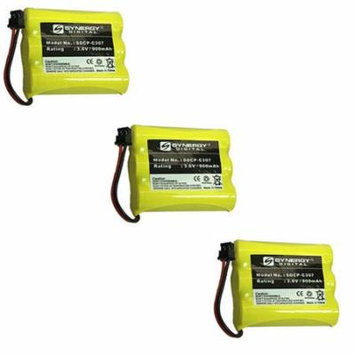 Panasonic PQP60AAF3G2 Cordless Phone Battery Combo-Pack includes: 3 x SDCP-C307 Batteries