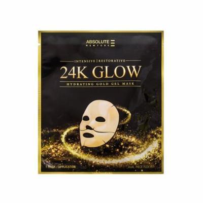 (3 Pack) Absolute 24K Glow Gold Gel Mask