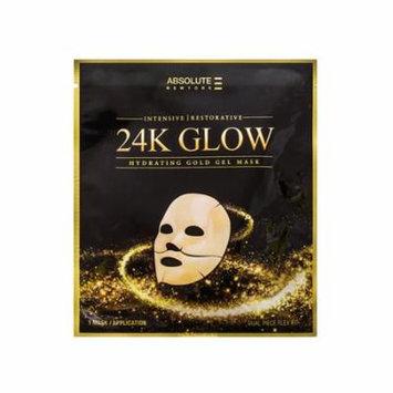 (6 Pack) Absolute 24K Glow Gold Gel Mask
