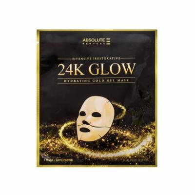 (6 Pack) Absolute 24K Glow Gold Gel Mask