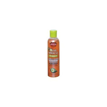 African Pride Olive Miracle Neutralizing Deep Conditioning Shampoo 8 oz (Pack of 3)
