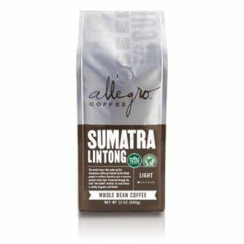 Allegro Ground Coffee 2, 12 oz Bags (Sumatra Lintong)