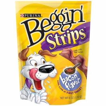 Purina Beggin Strips Dog Snack, Bacon Flavor 6 oz (Pack of 4)