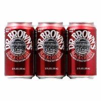 Dr. Brown Soda Black Cherry
