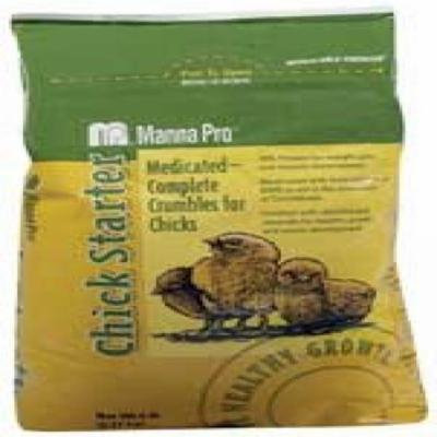 Manna Pro Chick Starter Crumbles, Medicated, 5 Lb