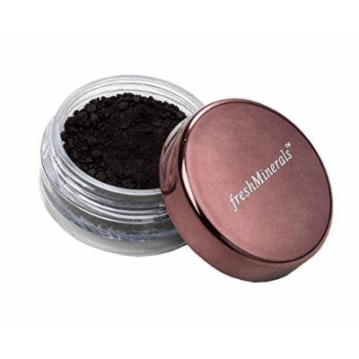 FreshMinerals Loose Eyeshadow, Matt Black, 1.5 Gram