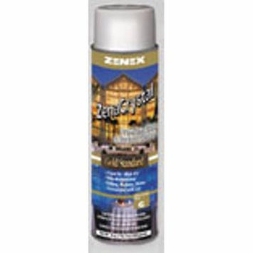 Zenex ZenaCrystal Gold Standard, Premium Glass and Surface Cleaner - 12 Cans (Case)