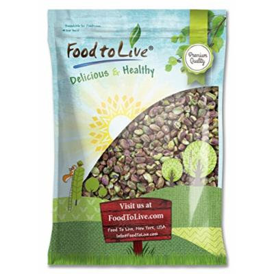 Food to Live No Shell Pistachios (Raw, Unsalted, Kernels, Bulk) (9 Pounds)
